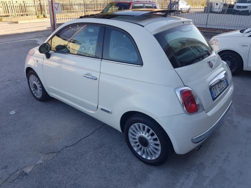 Fiat 500 1.2 Lounge del 2009 (4)