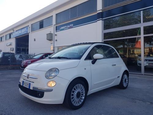 Fiat 500 1.2 Lounge del 2009 (7)