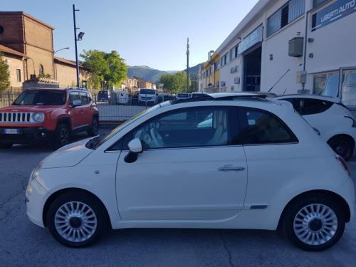 Fiat 500 1.2 Lounge del 2009 (8)